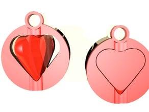 Valentine's Day keychain