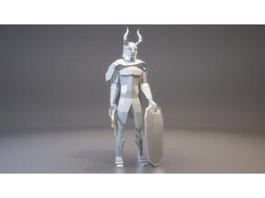 Warrior Figure (LowPoly)