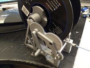 Filament Loader for Multiple Mechanism Auto-Rewind Spool Holder