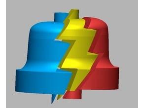 3D PLA Bell