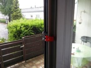 Screen door lock without drilling