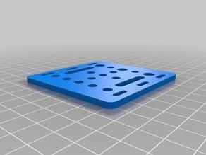 V-Slot Gantry Plate 20mm (OpenBuild)