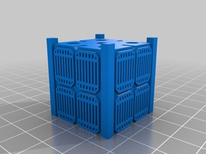 SPEX Mini Cubesat Keychain