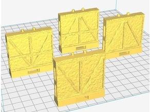 OpenLock 7.0 Tudor Wall A - Chevron Style