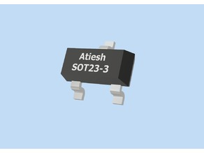 Model - SOT23-3 IC Package