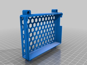Top enclosure for CR-10 Board with 92mm Fan