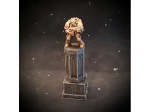 28mm statue plinth