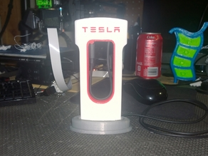 Tesla Phone Supercharger