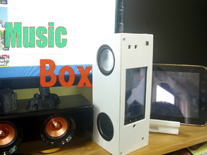 Music box with old smartphone(Nexus One)