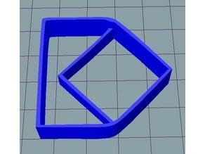 Koreus logo cookie cutter