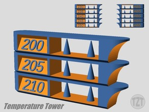 Customizer - Extruder Temperature Tower