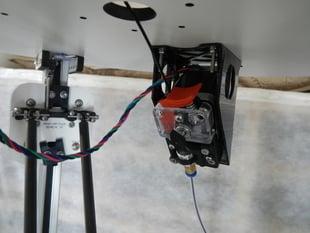 EZstruder top mount (Rostock MAX)