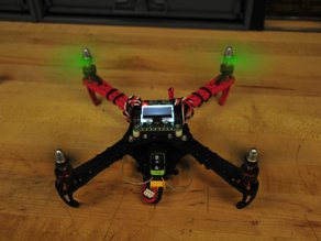 Mini Flamewheel Quadcopter With Landing Gear
