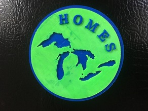 HOMES Michigan Great Lakes Magnet