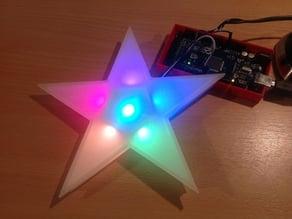 RGB LED Christmas star