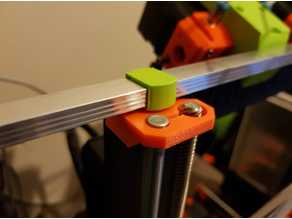 Prusa i3 Mk2 MMU LED Strip Light Bracket for Hexagon Hole