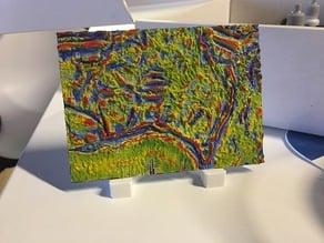 Gravity Anomaly map of Australia