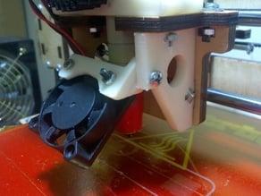 Printrbot LC side fan mount