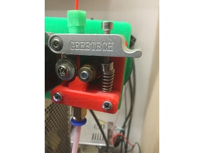 Geeetech MK8 Extruder base replacement with filament guide