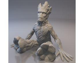 Baby Groot - Adult Head