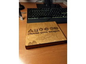 Dices box laser cut