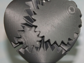 Gear Heart with Handle