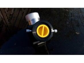 Telescope eyepiece / focuser cap (male cap) 1.25in / 2in