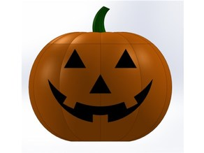Small Pumpkin with Lid