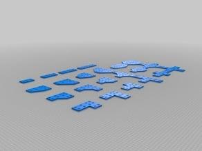 My Customized Plate Bracket for Aluminium Extrusion Profiles (Misumi 2020, 2040, 4040, ...)