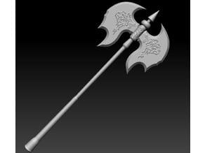Black Knight Greataxe [Dark Souls]