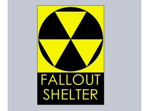 FALOUT SHELTER sign