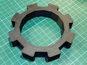 80mm 15 facet oil filter grip.