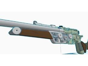 DL-44 Carbine Blaster; Front Handle Missing piece