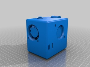 Complete Enclosed Extruder Carriage for Anet A8 / Prusa i3 & clones