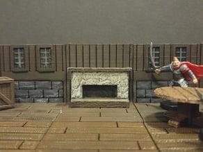 threednd - fireplace