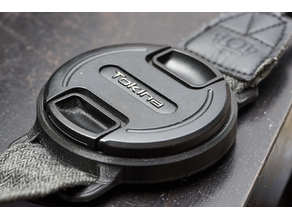 Camera Lens Cap Holder  77mm-72mm-62mm