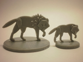 FlatMinis: Dire Wolf