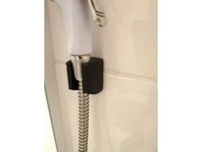 little shower holder for wall