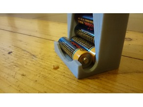 AA battery holder (improved)