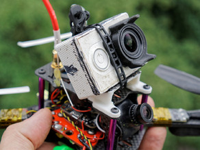 Martian III (GepRC and others too) Xiaomi/GoPro mount