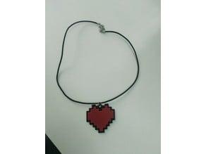 Undertale Heart Necklace