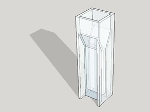 Thin style cuvette