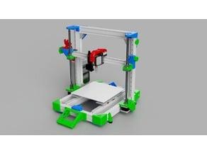 MGN12 Z-axis rework to take SFU1204 ball screws
