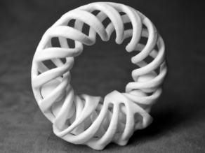 Helix Ring with Stand