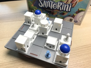 Santorini Board Game Gaming Board