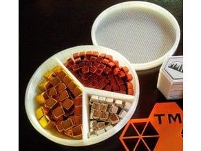 Terraforming Mars Resource Cube Holder Box