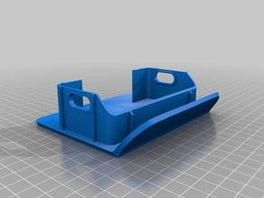 Wrangler TJ 97 Rear Bumper Endcap