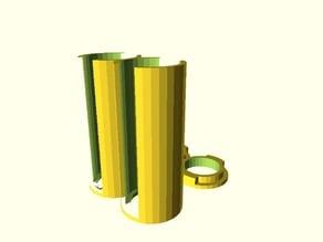 Parametric Coin Storage Tube(s) + Cap - enhanced