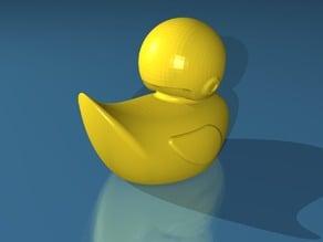 Skeptical Duck