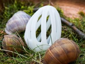 Twirly Easter Egg